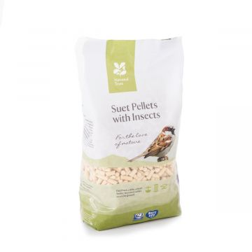 National Trust Insect Suet Pellets 1.5Ltr