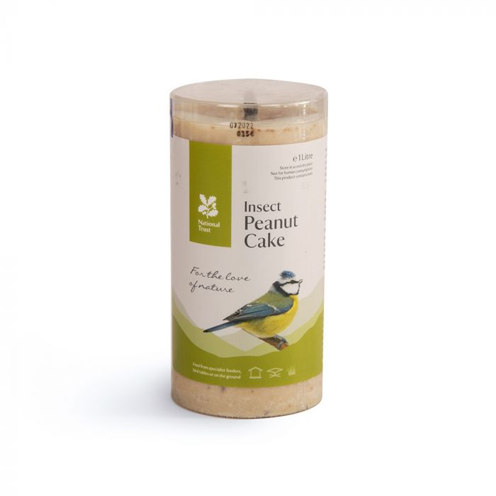 National Trust Insect Peanut Cake 1ltr