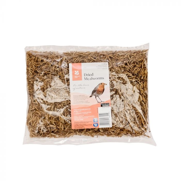 National Trust Dried Mealworms 250g