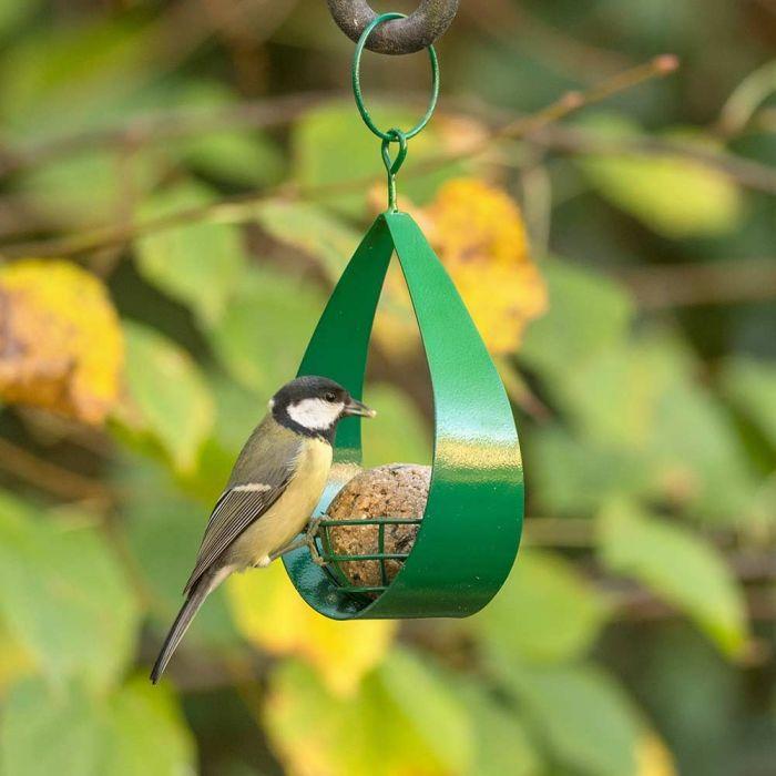 Canberra Fat Ball Bird Feeder - Green