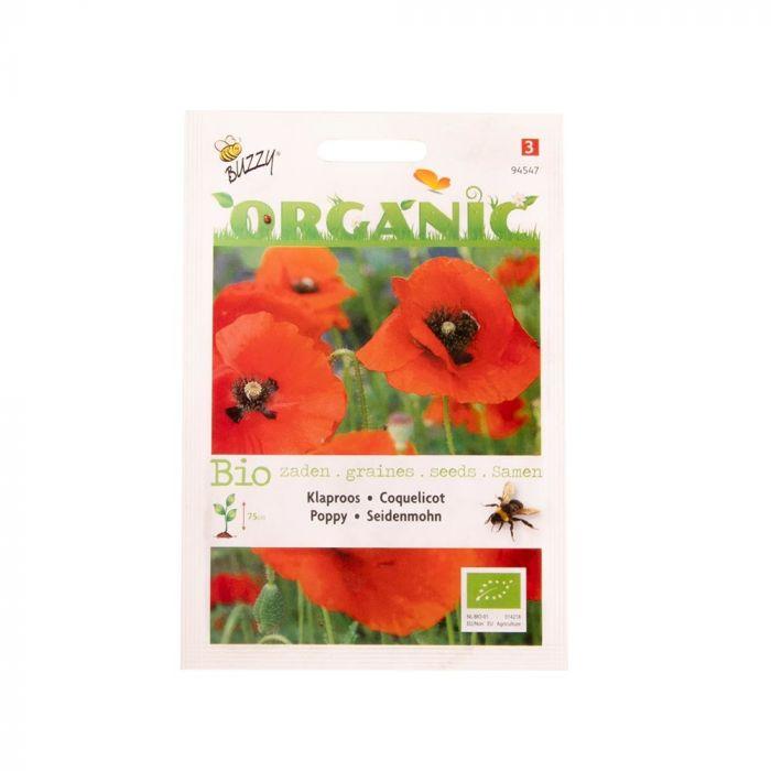 Buzzy® Organic Red Poppy Seeds