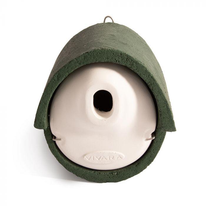WoodStone® Alicante 32mm Oval Hole Nest Box (Green)