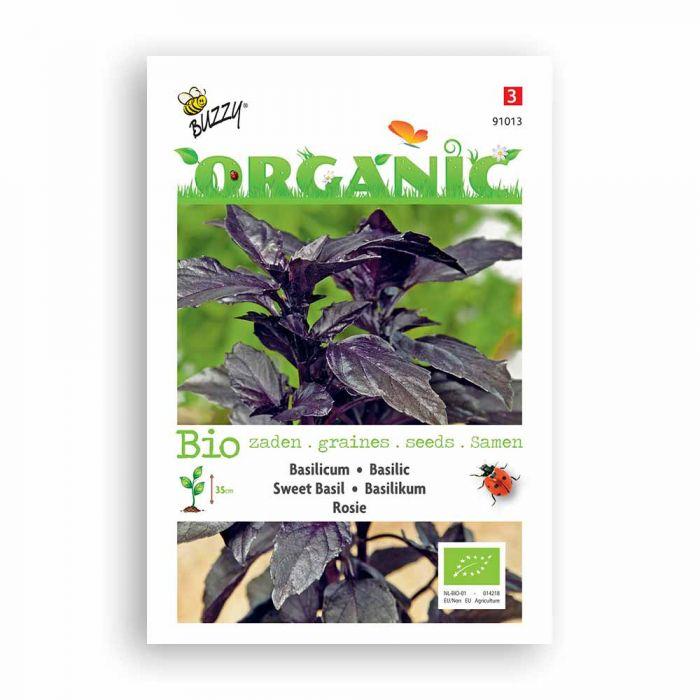 Buzzy® Organic Sweet Basil Seeds - Rosie