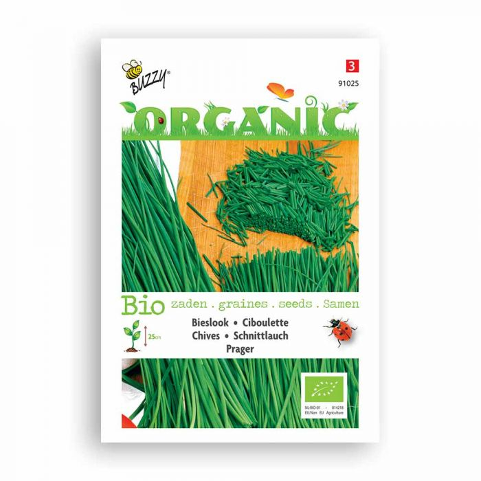 Buzzy® Organic Chive Seeds - Prager