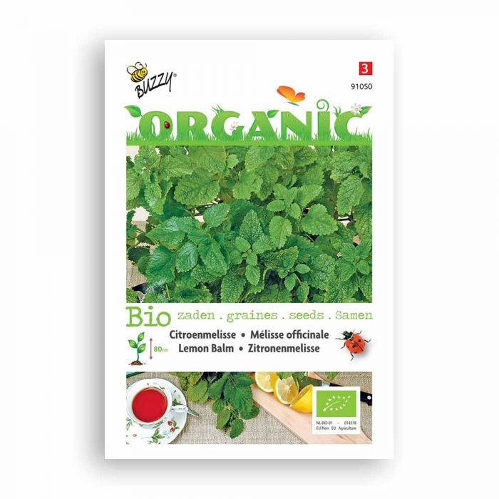 Buzzy® Organic Lemon Balm Seeds