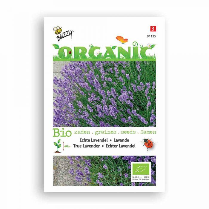 Buzzy® Organic True Lavender Seeds