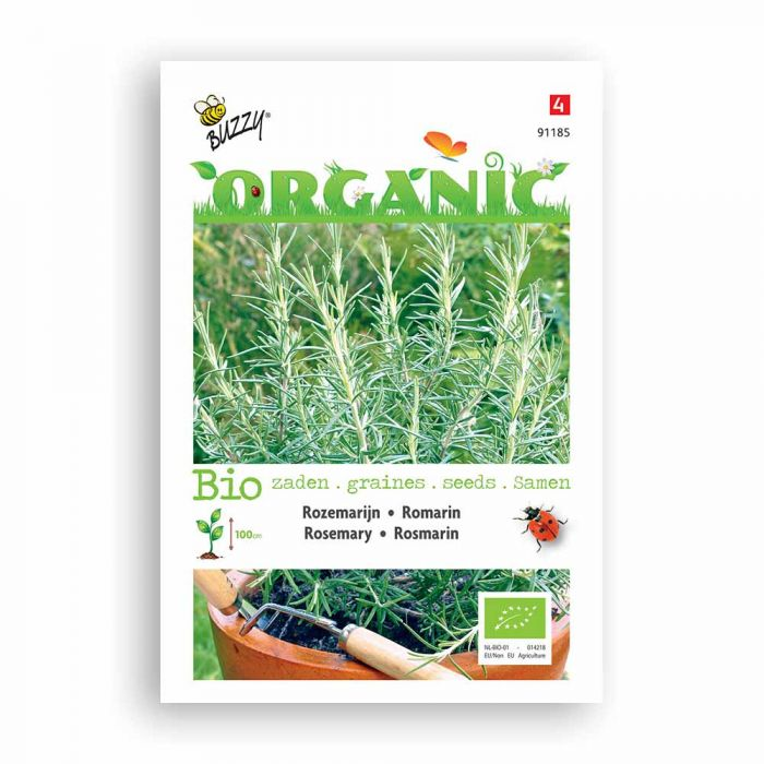 Buzzy® Organic Rosemary Seeds