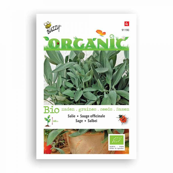 Buzzy® Organic Sage Seeds