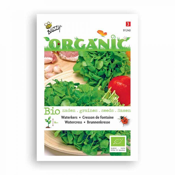 Buzzy® Organic WatercressSeeds