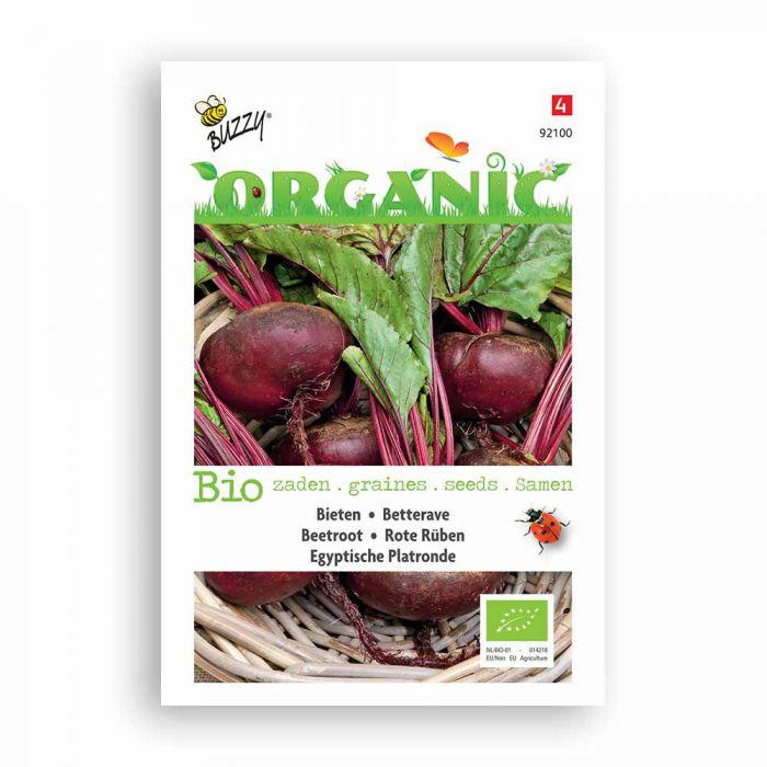 Buzzy® Organic Beetroot Turnip Seeds - Egyptian