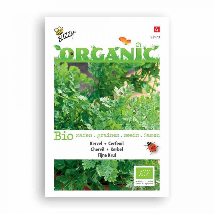 Buzzy® Organic Chervil Seeds - Fine Curled (BIO)