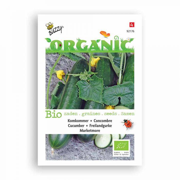 Buzzy® Organic Cucumber Seeds - Marketmore (BIO)