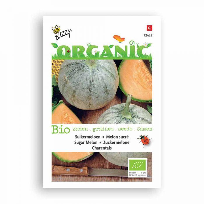 Buzzy® Organic Sugar Melon Seeds - Charentais (BIO)