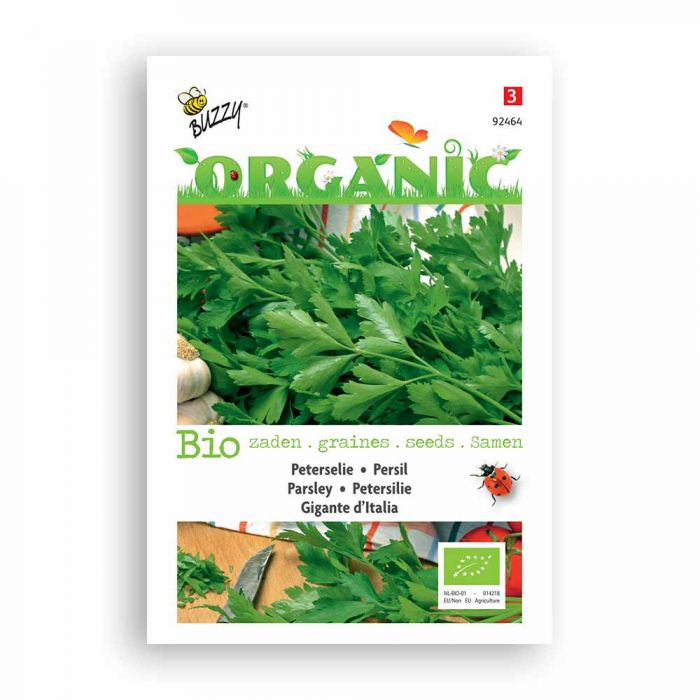 Buzzy® Organic Parsley Seeds - Gigante d'Italia