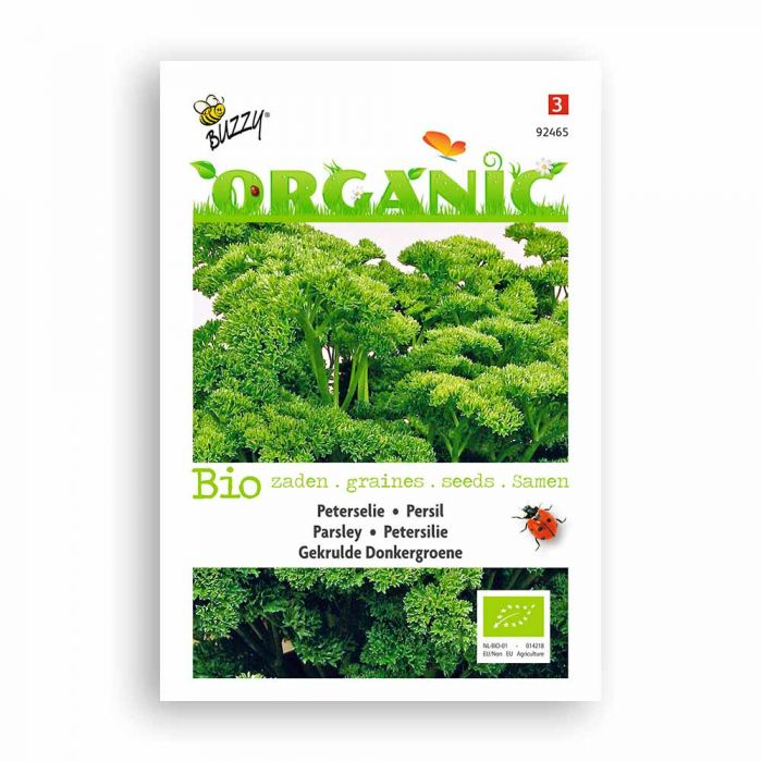 Buzzy® Organic Parsley Seeds - Frisé vert foncé