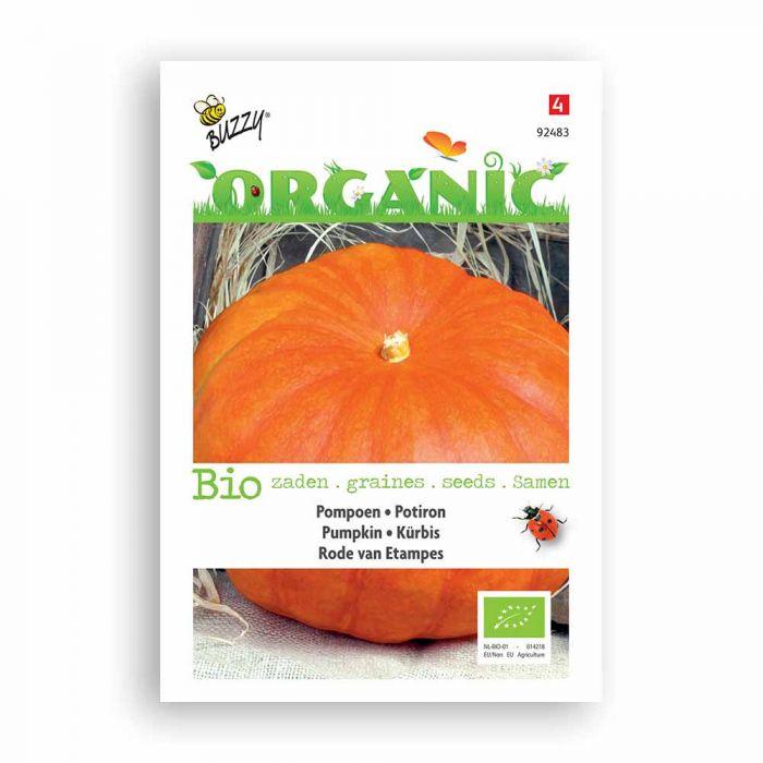 Buzzy® Organic Pumpkin Seeds - Rouge vif d'Etamp