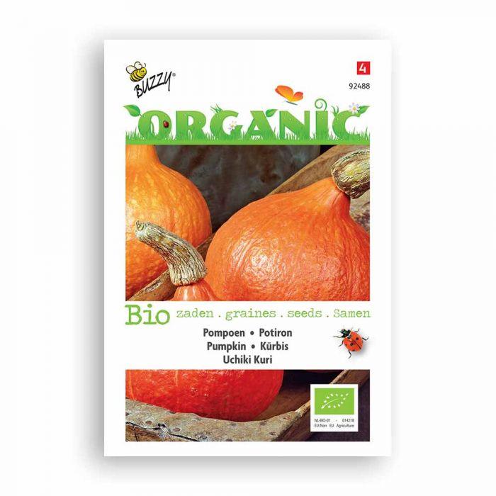 Buzzy® Organic Pumpkin Seeds - Uchiki Kuri (BIO)