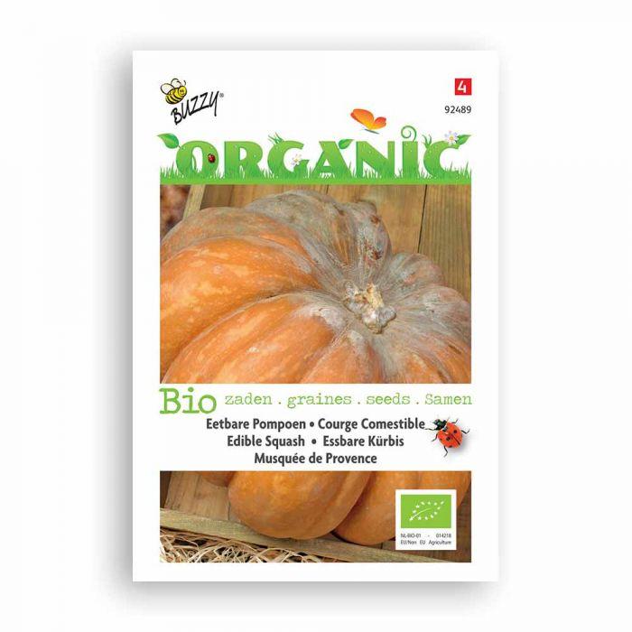 Buzzy® Organic Edible Squash Seeds - Musquée Pro