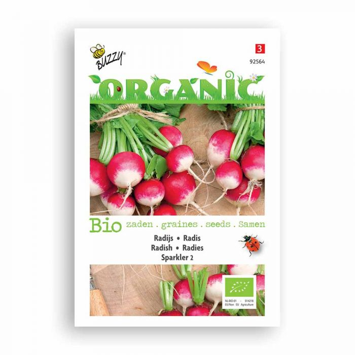 Buzzy® Organic Radish Seeds - Sparkler 2
