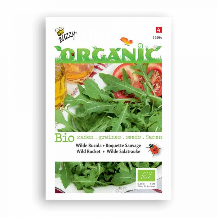 Buzzy® Organic Wild Rocket Seeds