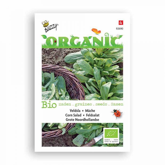 Buzzy® Organic Corn Salad Seeds - Grote Nrd Hol