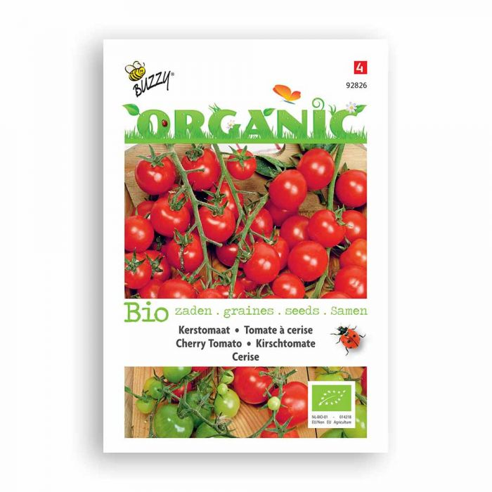 Buzzy® Organic Cherry Tomato Seeds - Cerise