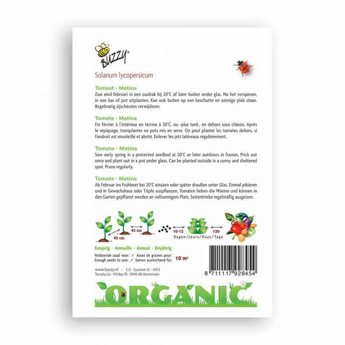 Buzzy® Organic Tomato Seeds - Matina