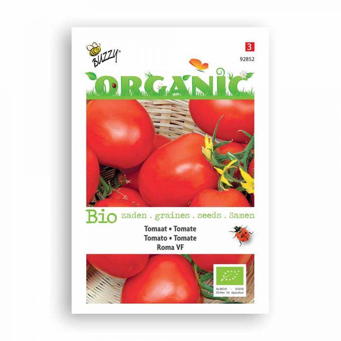 Buzzy® Organic Tomato Seeds - Roma VF
