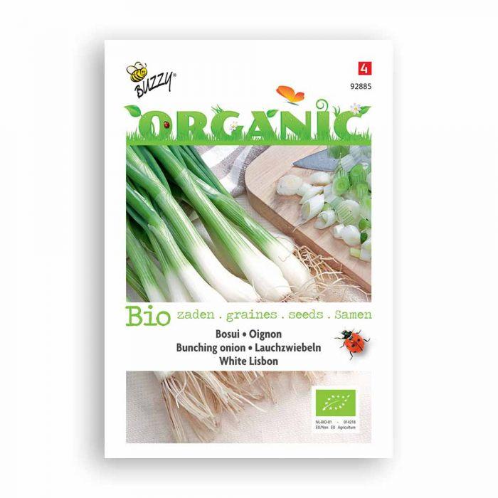Buzzy® Organic Bunching Onion Seeds - Wh Lisbon