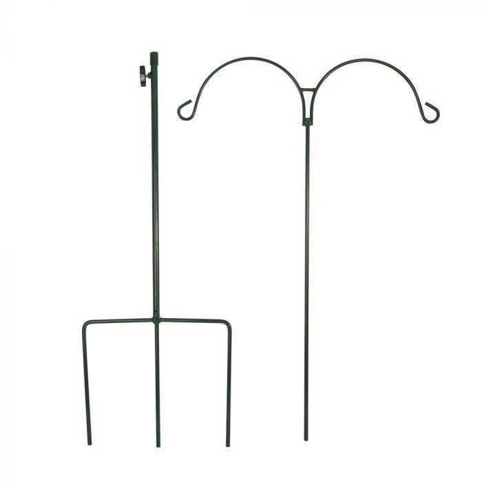 Feeder Pole Double - Green
