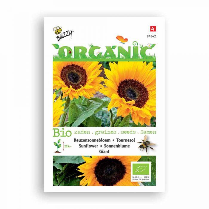 Buzzy® Organic Sunflower Seeds - Giant