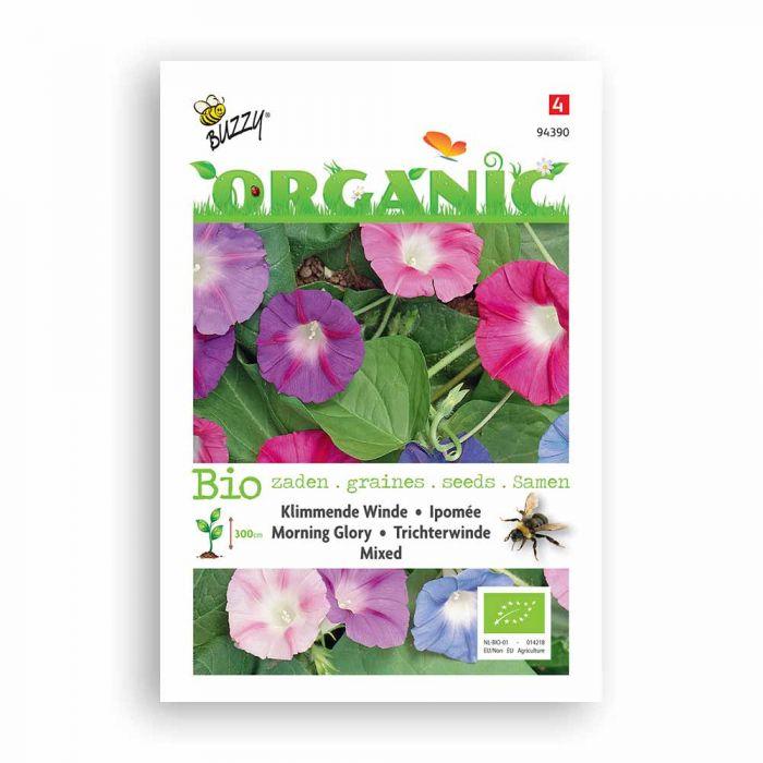Buzzy® Organic Morning Glory Mixed Seeds