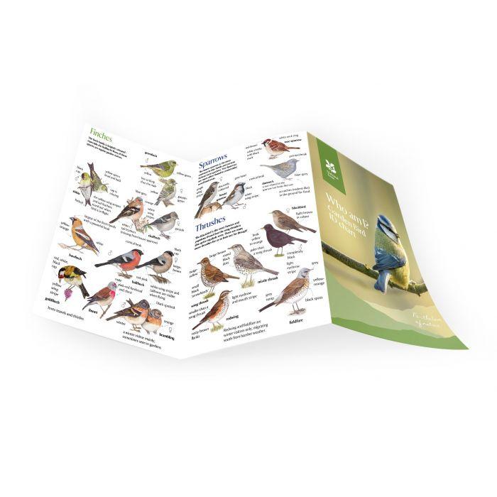 National Trust Bird ID Chart