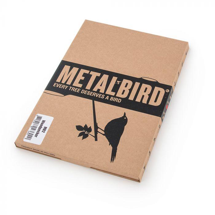 Metal Bird Great Spotted Woodpecker