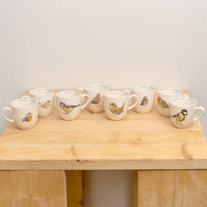 Garden Bird Mug Set