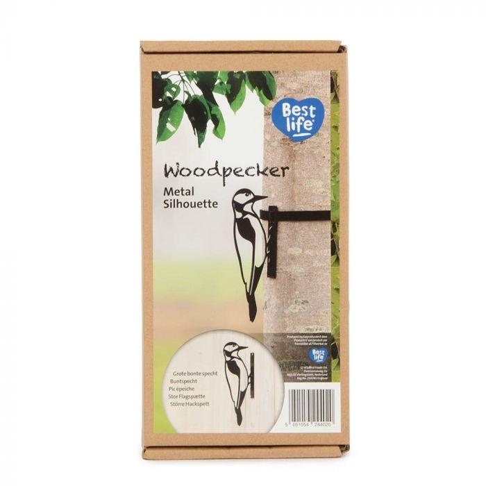 Metal Silhouette – Great Spotted Woodpecker