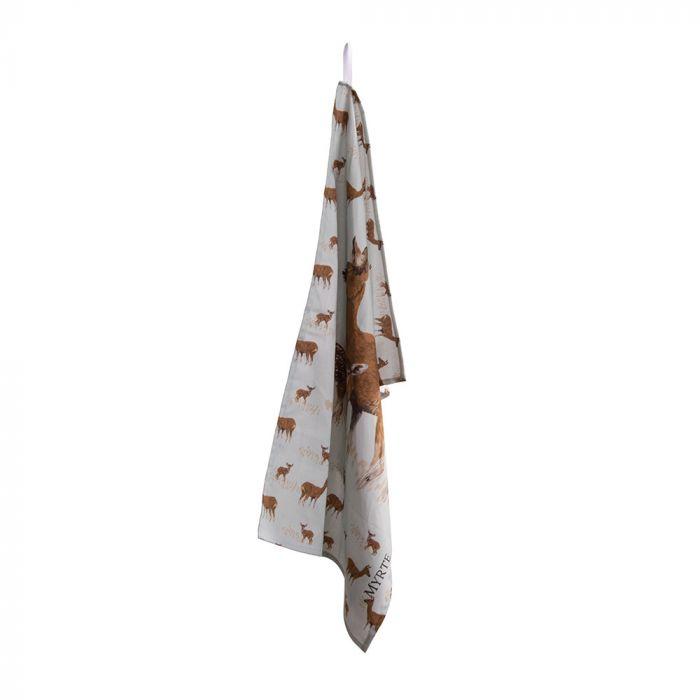 Myrte Deer Tea Towel