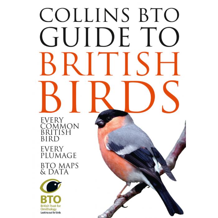 Collins BTO Guide to British Birds Book