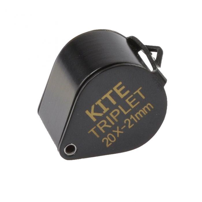 Kite Loep Triplet 20x21mm