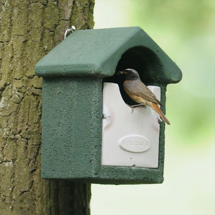 WoodStone® Barcelona Open Nest Box (Green)