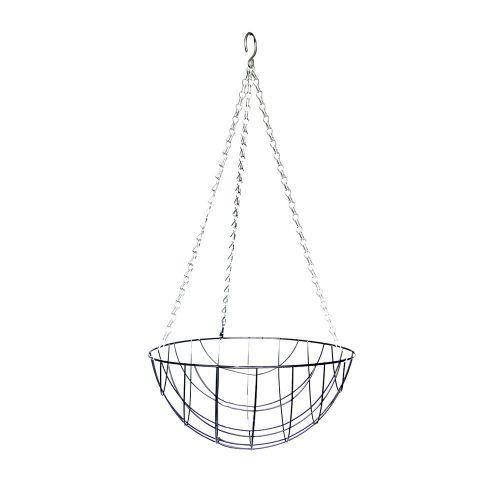 Metal Hanging basket & Coconut inlay 30cm