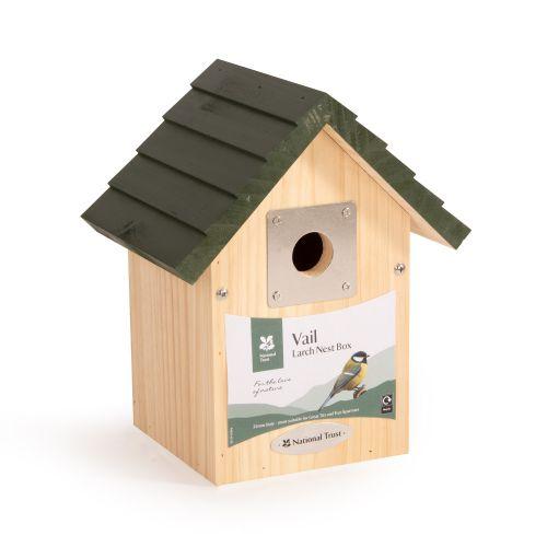 National Trust Vail Larch 32mm Nest Box