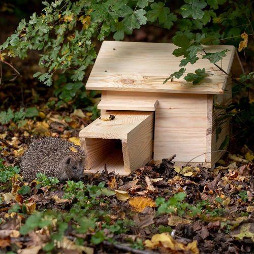 National Trust Pine Hedgehog House