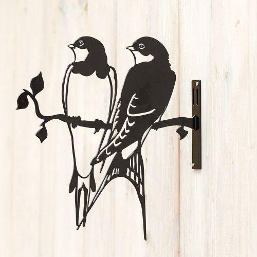 Metal Silhouette - Swallow