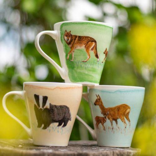 Myrte Mammal Mug Set