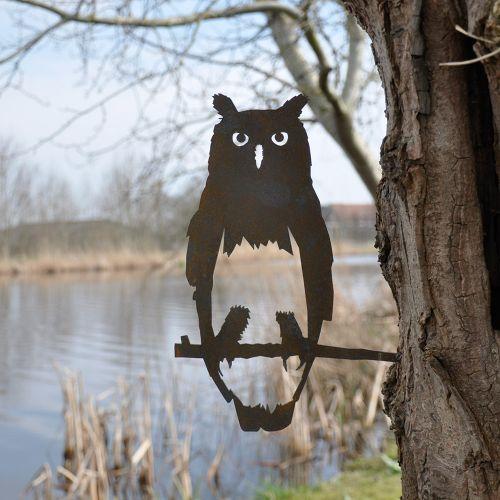 Metal Bird Owl