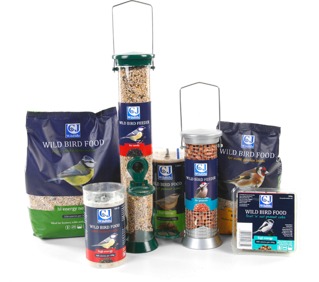 Range of CJ Wildlife Trade products